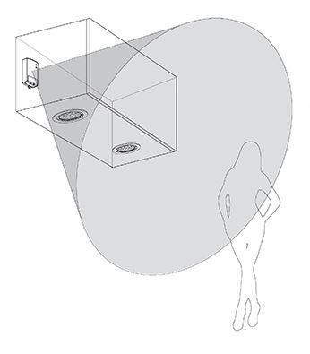 D tecteur de pr sence pour clairages accessoires de cuisines for Detecteur de presence pour eclairage interieur