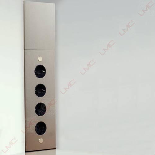 Placez des prises d'angles le long des murs pour brancher votre petit électromenager